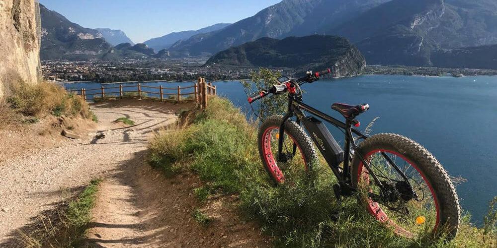 Noleggio bici per famiglie sul Lago di Garda