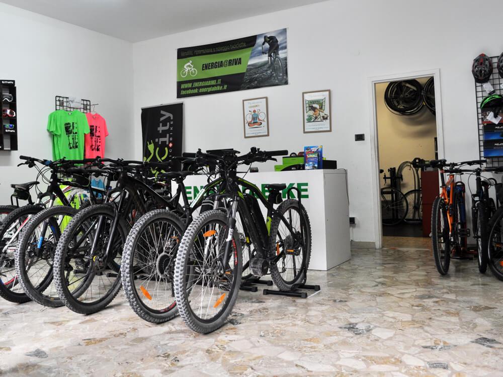 Vendita bici al Lago di Garda